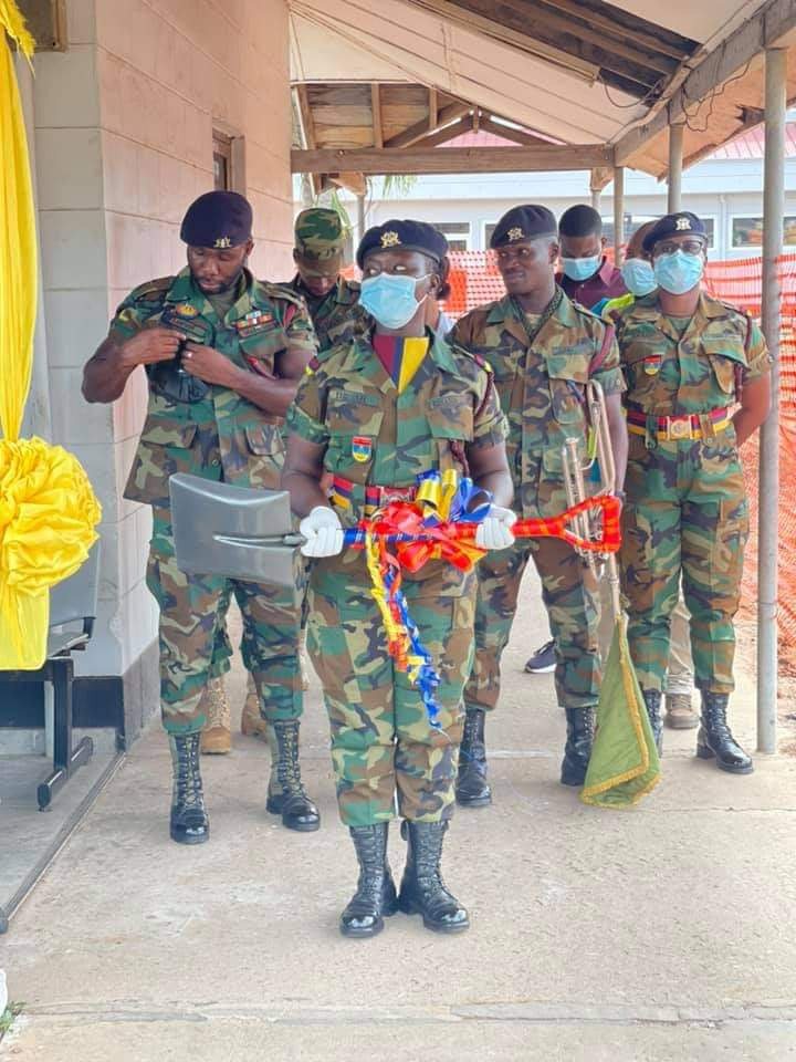 Photos: Kennedy Agyapong cuts sod to construct a Cardio Centre at 37 Military Hospital. 69
