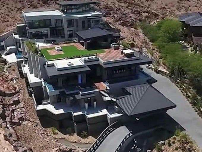 Cyril Ramaphosa's House and Cras