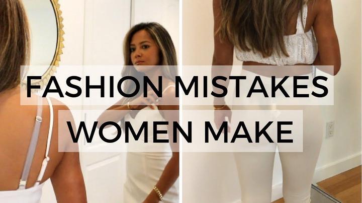 FASHION MISTAKES WOMEN MAKE in 2021 | Style mistakes, Fashion mistakes woman,  Fashion