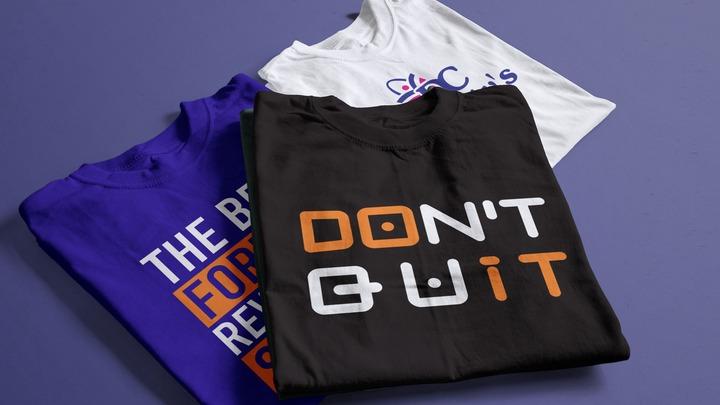 Customized T-shirts Print & Monogram Design in Lagos Nigeria