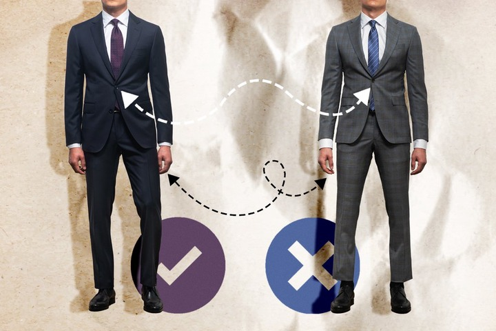 Top 10 Signs You're in a Poor-Fitting Suit – The Helm Clothing