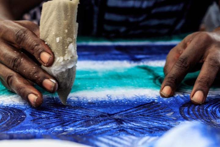 Adire: the Art of Tie and Dye - The Centenary Project — Google Arts &  Culture