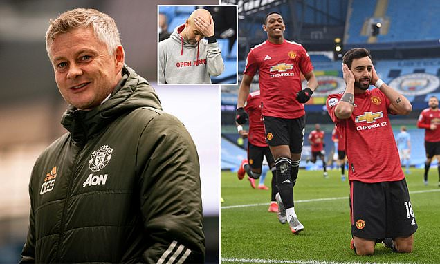 Ole Gunnar Solskjaer admits Manchester United are still too far behind City  for a title challenge | Daily Mail Online
