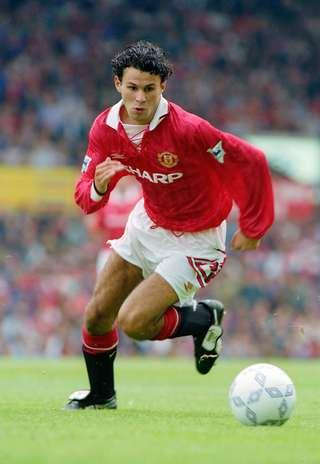 Ryan Giggs Manchester United 1992