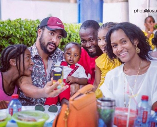 Pictures of Majid Michelle and his lovely family causes stri online. 4