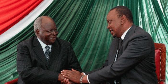 Retired Kibaki to Earn Double <a class=