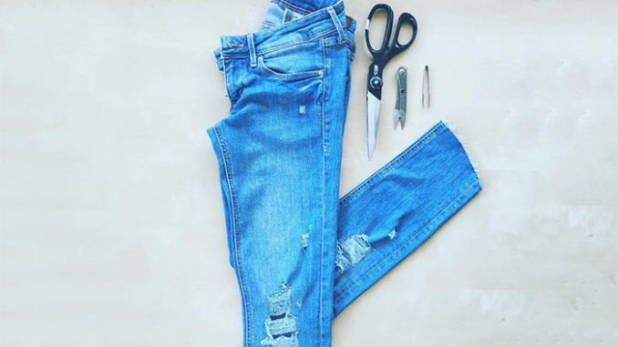 How To Make Ripped Jeans At Home - Explore Trending