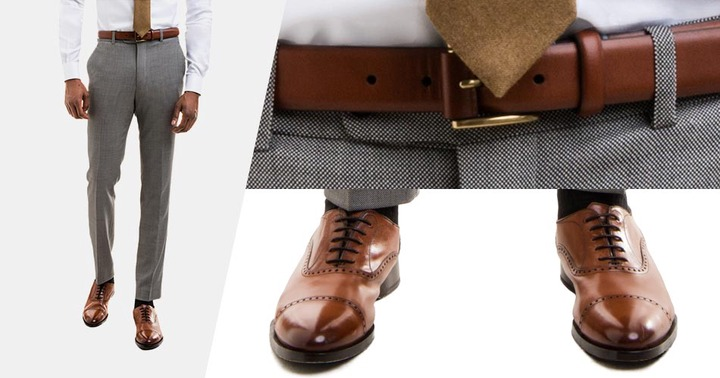 what belt to wear with blue shoes cheap online