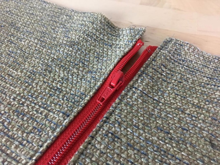 How To Sew A Separating Zipper: Top-Stitching And Faced Method - Doina  Alexei