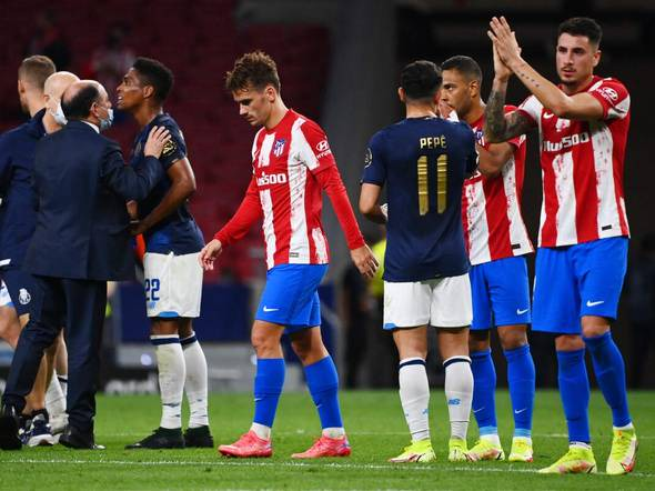 Griezmann jeered as Atletico Madrid held 0-0 by Porto in Champions League -  LocalFobs