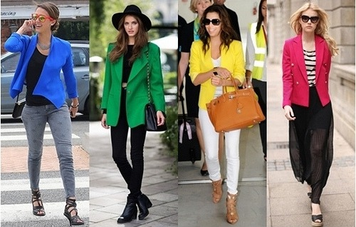 How to Wear Bright Colored Blazers - Creative Fashion