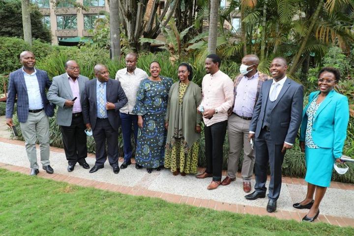 Uhuru's Team Walk Out of Mount Kenya Unity Forum led by Martha Karua, Moses  Kuria, Mwangi Kiunjuri in Protest