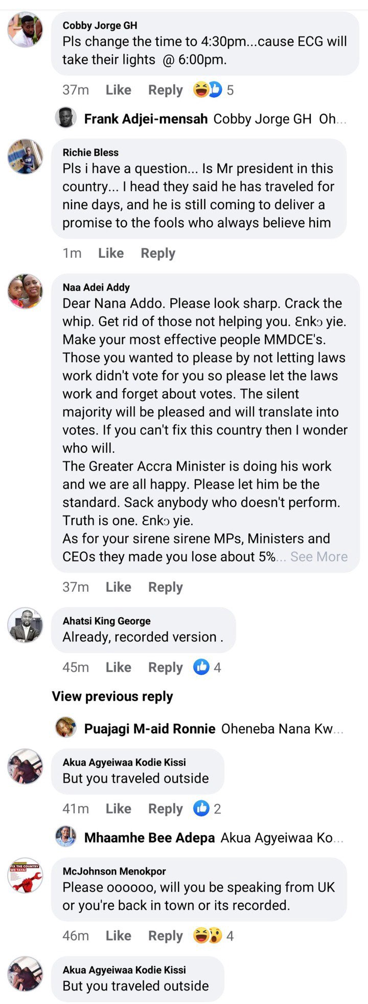 6aa6bad6c517d9e54d41716c9dd323e7 6?source=nlp&quality=uhq&format=jpeg&resize=720 - FixTheCountry: We Dont Need This Address - Ghanaians React To 25th COVID-19 Address