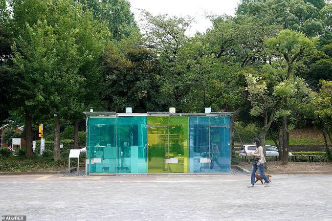 Photos] Japan Shocks World After Building Transparent Toilets in ...