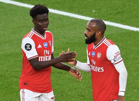 Bukayo Saka explains why Alexandre Lacazette slapped him after first  England call-up | Metro News