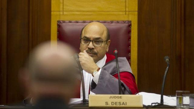 Judge Siraj Desai
