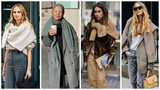 Friday Fashion Fits: How to Wear a Sweater as a Scarf