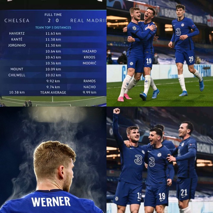 Check Out The Chelsea Player That Covered The Most Distance On the Pitch Yesterday