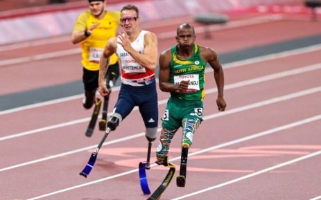 Ntando Mahlangu snatches another gold medal at the Paralympic Games