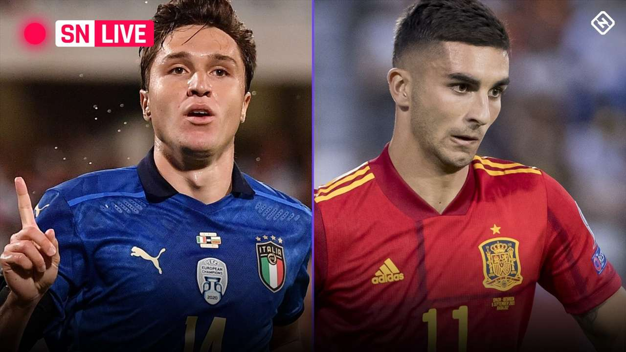 LIVE - Italy - Spain - Nations League
