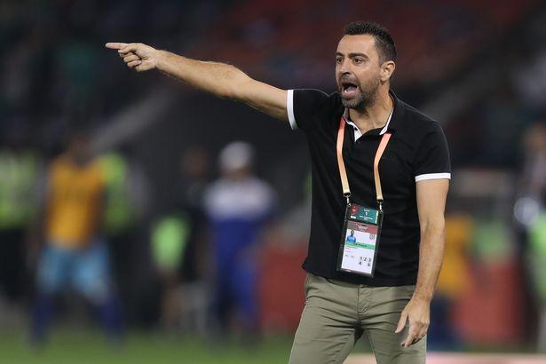 Xavi is currently managing Al Sadd in Qatar