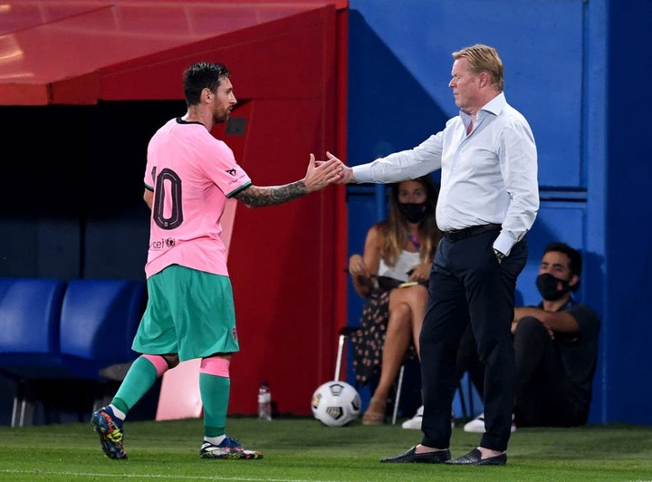 Ronald Koeman battles chaos and uncertainty as Barcelona step into unknown  | The Independent