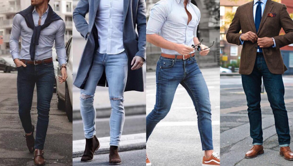 thick guys in skinny jeans cheap online