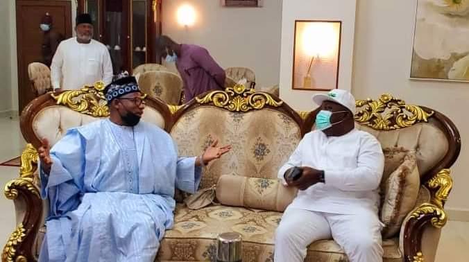 Bauchi State Governor Finally Receives Enugu State Governor, Ugwuanyi  (Photos)