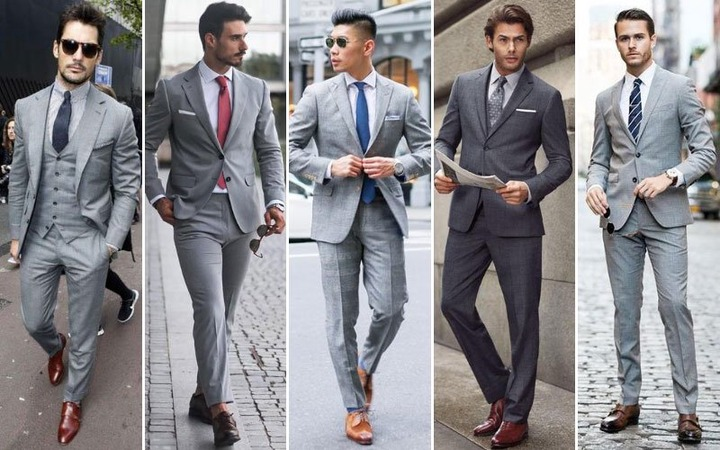 Best Shirts To Wear With A Grey Suit (2021 Men's Style Guide)