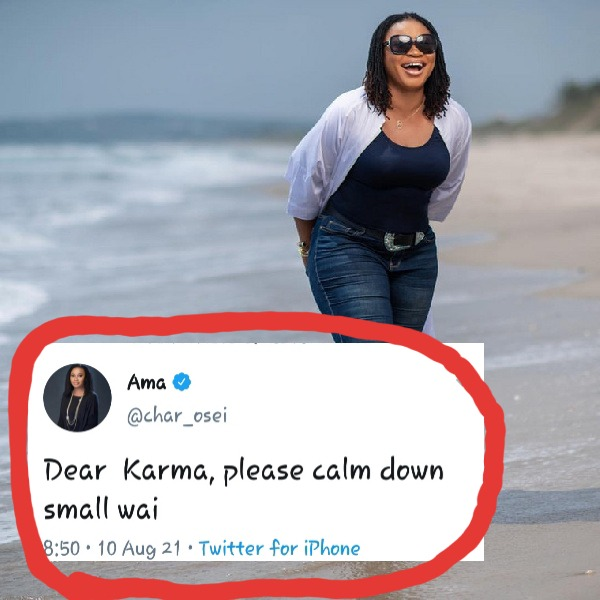 Shots fired: Charlotte Osei points to karma as vaccine scandal embarrasses government. 52