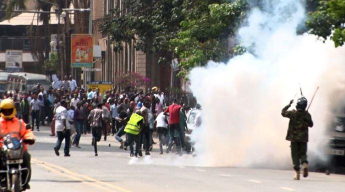 Chaos In Nairobi CBD After Policeman Shoots Dead Boda Boda Rider Over  Ksh.50 Bribe [Video] - Kenya Leo   Digital News Channel