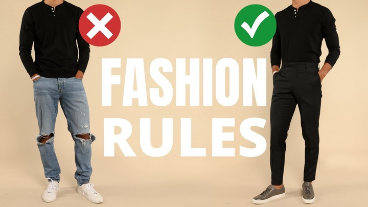 Scooper - Africa Lifestyle News: 7 Fashion Rules All Men Should Learn Once  And For ALL