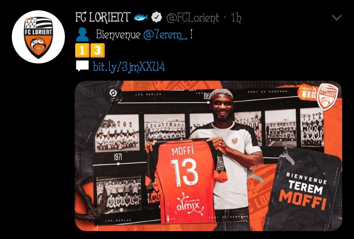French Ligue 1 Giants Announce The Signing Of Nigerian Star Photos Opera News