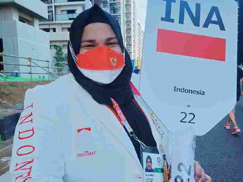 Atlet olahraga angkat besi Olimpiade Tokyo 2020, Nurul Akmal.