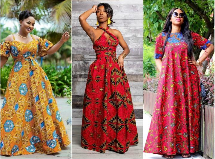 Dazzling Ankara Maxi Dresses To Take A Look At Now - AfroCosmopolitan