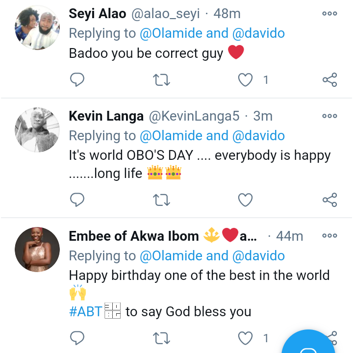 See What Olamide Just Tweeted About Davido On His Birthday That Got Fans Praising Him
