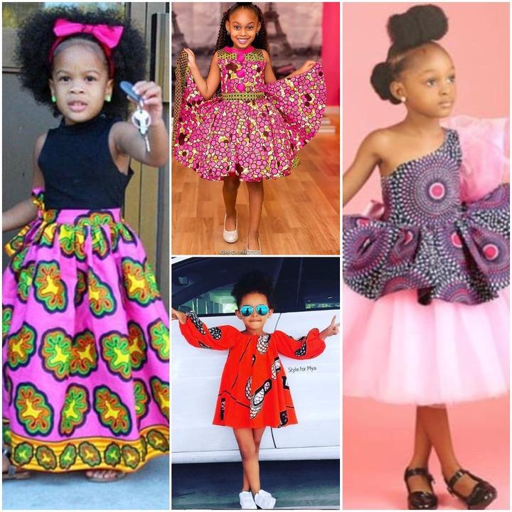 Ankara Styles For Female Kids 2018 |Photos |FabWoman