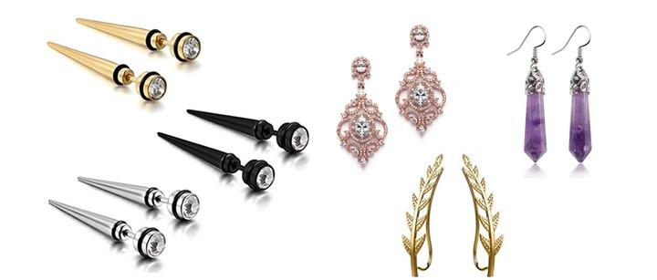 Types of Earrings - 15 Popular Pearl And Diamond Stud Earring Styles For  Women   Kislly