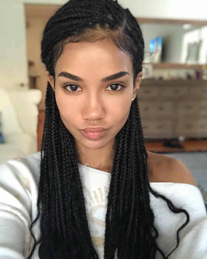 chic braid hairstyle