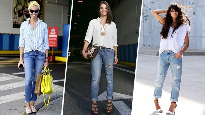How to Wear Boyfriend Jeans: 10 Genius Ideas   StyleCaster