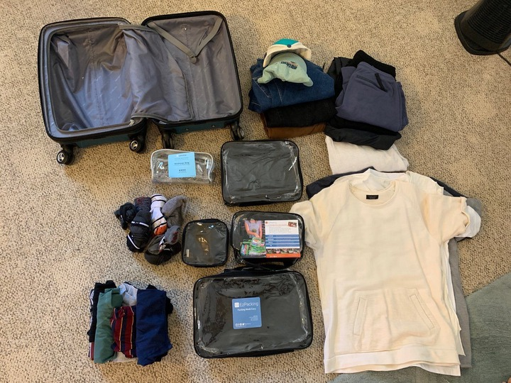 How to Pack for a Weekend Trip: Tips + Free Packing List! – EzPacking, Inc
