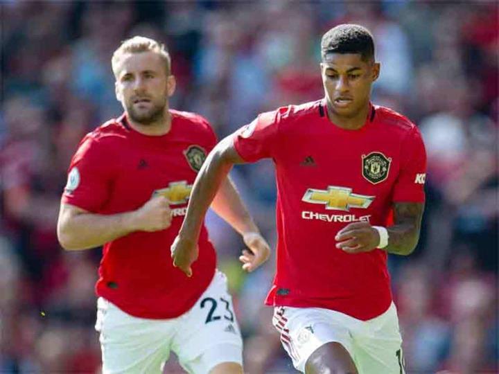 He's massive example to everyone': Shaw praises 'matured' Rashford |  Football News - Times of India