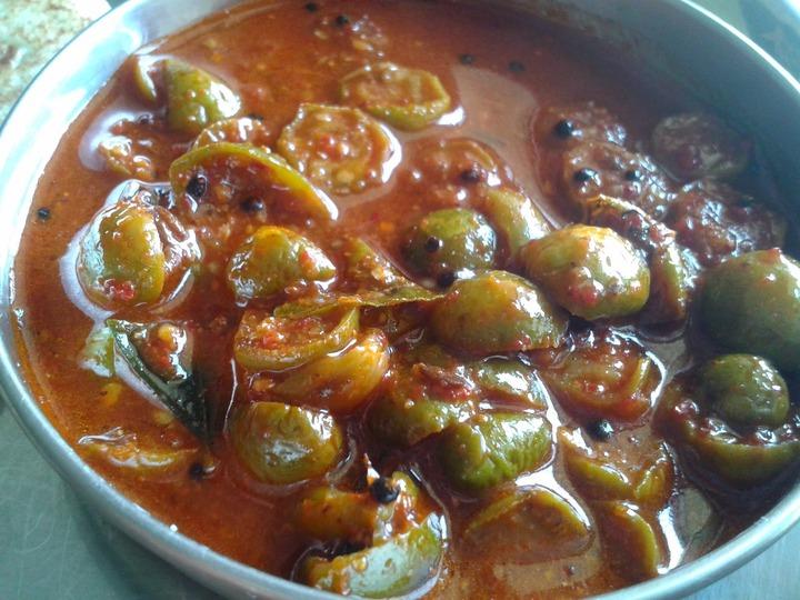 suma's cuisine: TURKEY BERRY PICKLE. (CHUNDEPHELLA UMMAN)