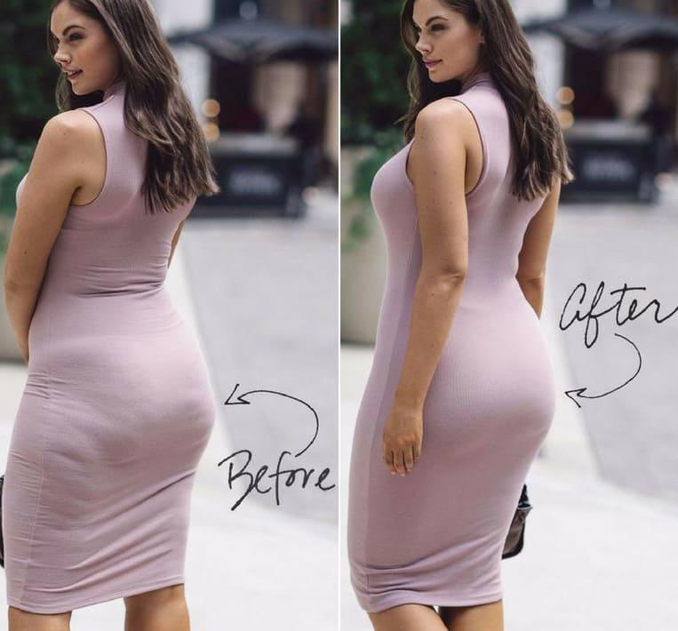 curvy girls spanx bodysuit