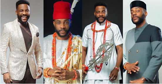 Check out Ebuka's fashion style during BBNaija live shows