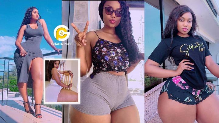 Curvy African model, Sanchi drops wild bedroom photos