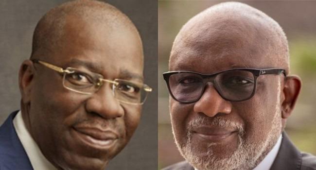Governors Akeredolu, Obaseki test negative for Coronavirus