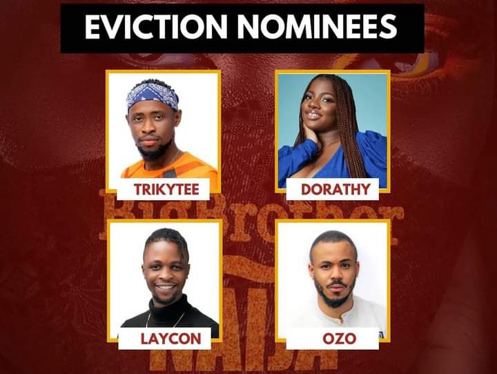 BBNAIJA: Who Do You Think Deserve To Be Evicted On Sunday Between Ozo,  Trikytee, Dorathy And Laycon? - Opera News