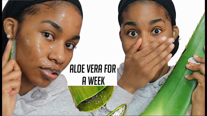 I used Fresh Aloe Vera on My Face for A WEEK...This is what happened. -  YouTube
