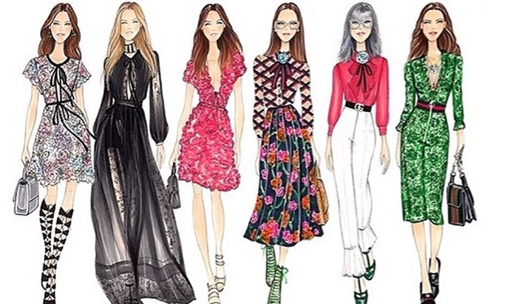 Fashion Design: Designer Sketches, Figure Drawing & Bohemian Style  Illustrations   Small Online Class for Ages 8-13   Outschool